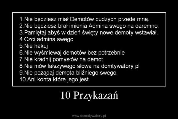 10 Przykazań –