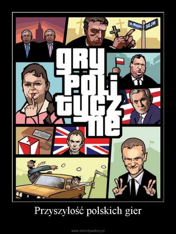 Przyszyłość polskich gier –