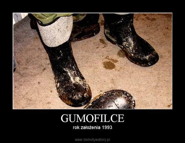 GUMOFILCE – rok założenia 1993