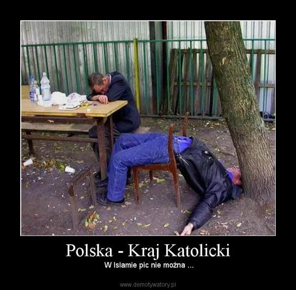 Polska - Kraj Katolicki –  W Islamie pic nie można ...