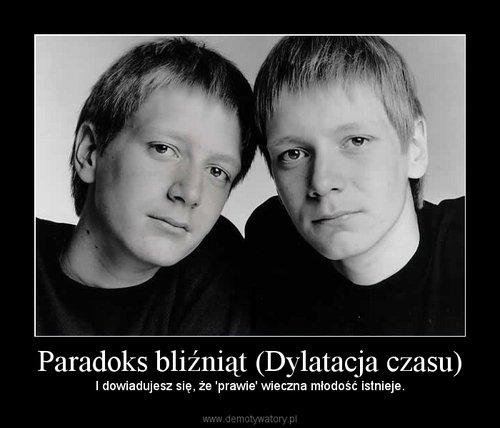 Paradoks bliźniąt (Dylatacja czasu)