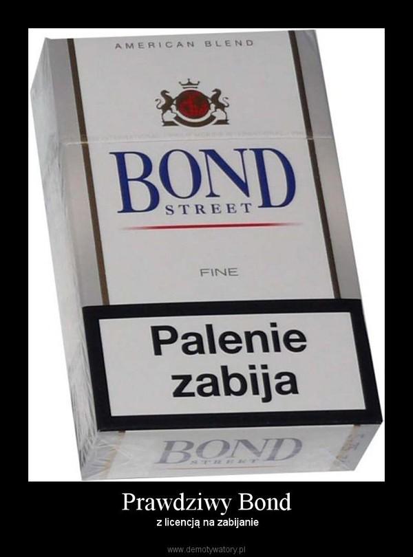 Prawdziwy Bond – z licencją na zabijanie