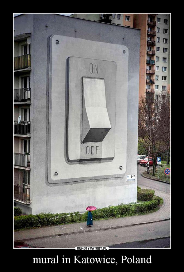 mural in Katowice, Poland –