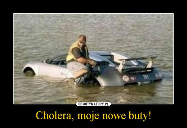 Cholera, moje nowe buty! –