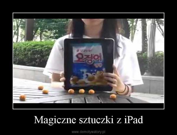 Magiczne sztuczki z iPad –