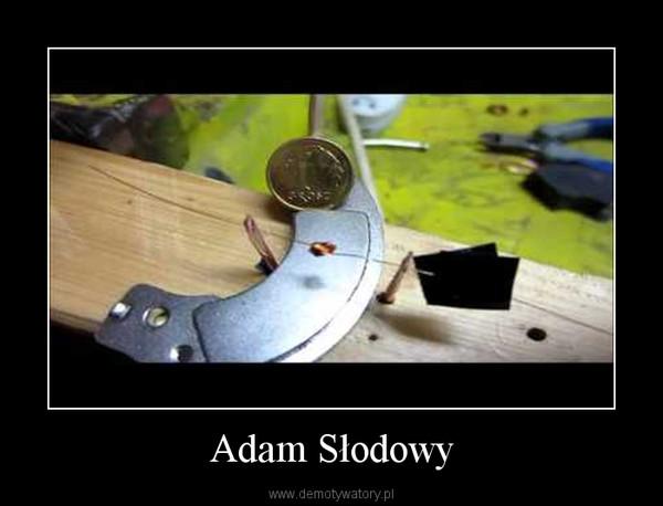 Adam Słodowy –