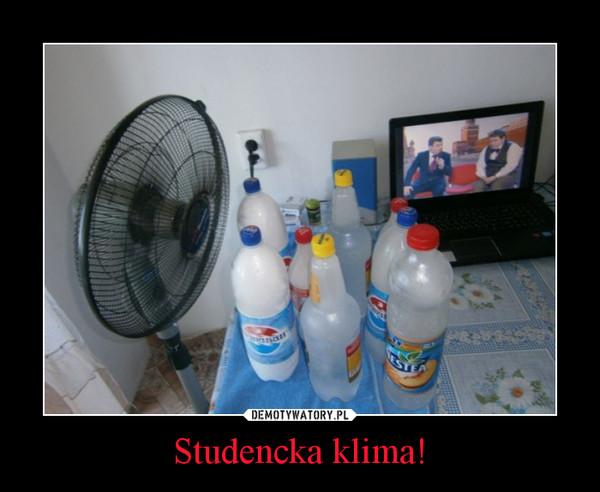 Studencka klima! –