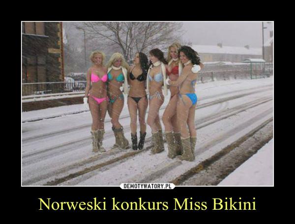 Norweski konkurs Miss Bikini –