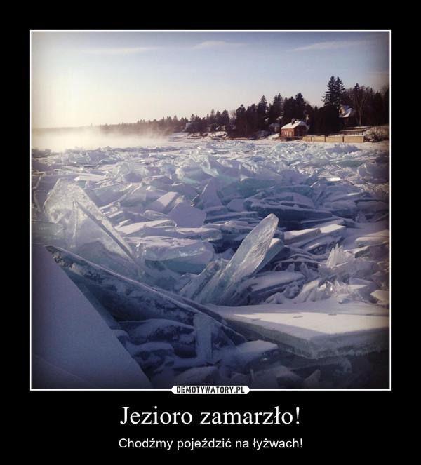 Jezioro zamarzło! – Chodźmy pojeździć na łyżwach!