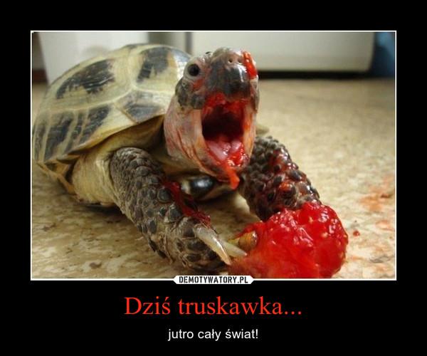 Dziś truskawka... – jutro cały świat!