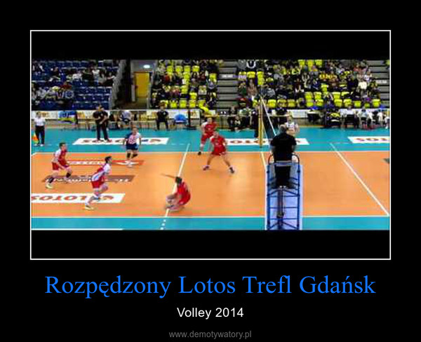 Rozpędzony Lotos Trefl Gdańsk – Volley 2014