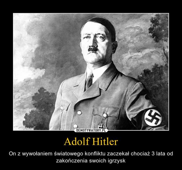 Adolf Hitler – On z wywołaniem światowego konfliktu zaczekał chociaż 3 lata od zakończenia swoich igrzysk