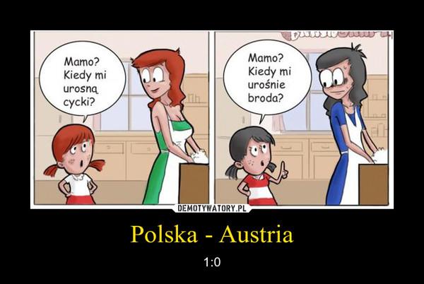 Polska - Austria – 1:0