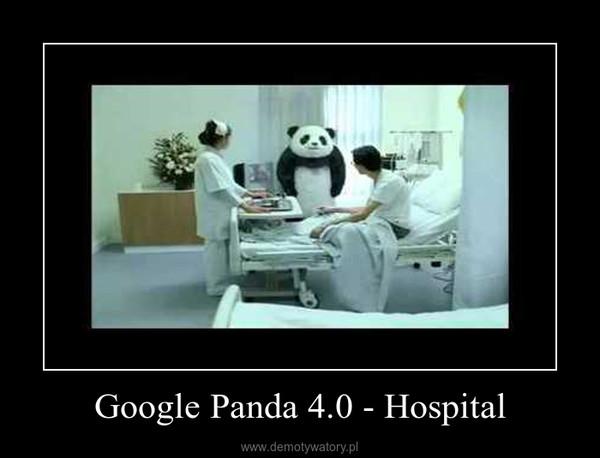 Google Panda 4.0 - Hospital –