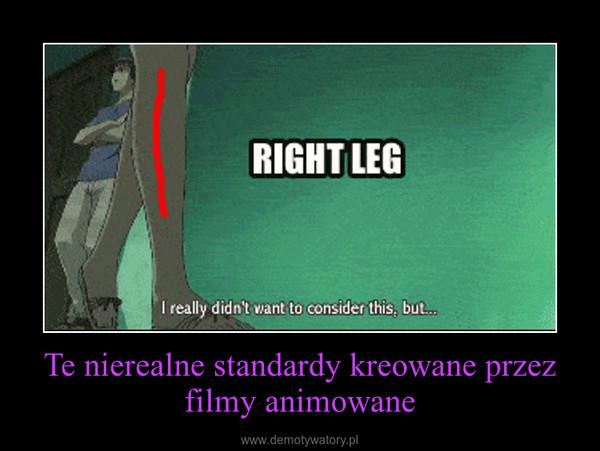Te nierealne standardy kreowane przez filmy animowane –