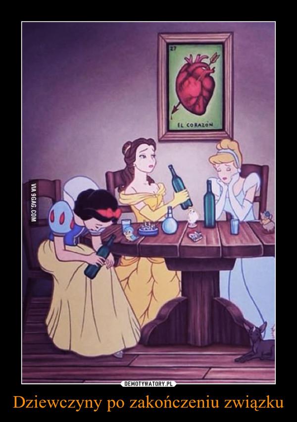 Dziewczyny po zakończeniu związku –