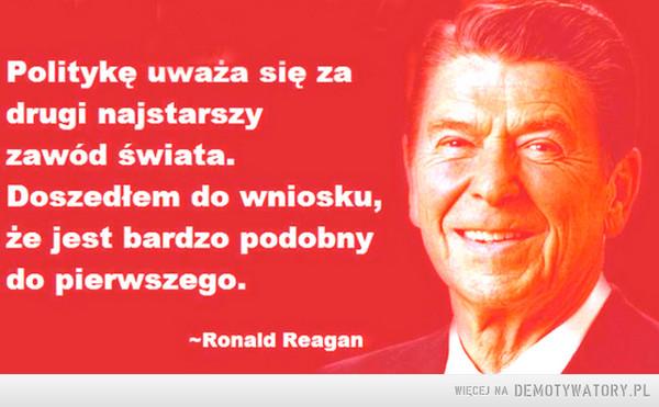 Polityka jest o wiele gorsza. –