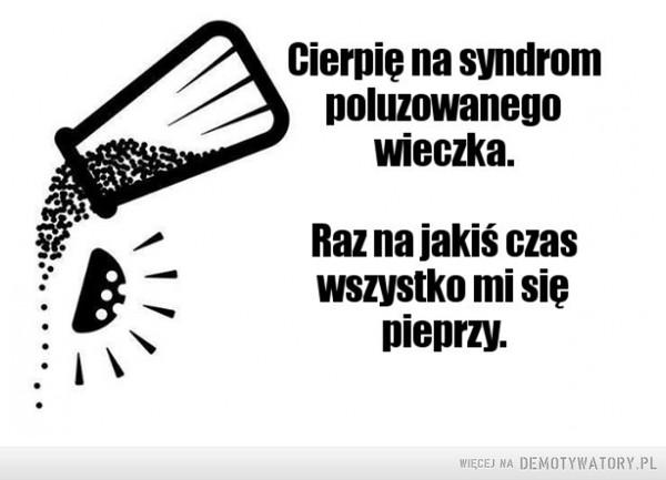 Syndrom poluzowanego wieczka –