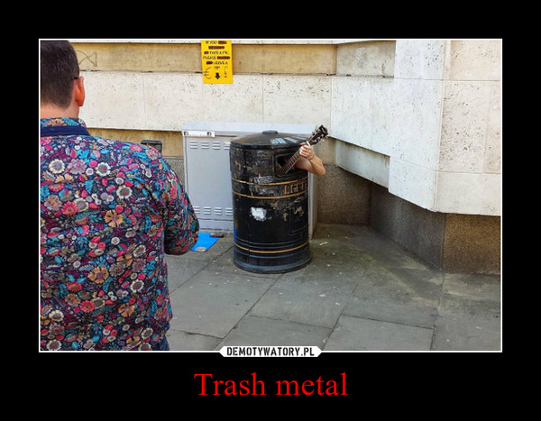 Trash metal –