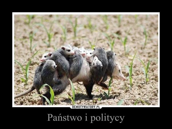 Państwo i politycy –