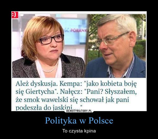 Polityka w Polsce – To czysta kpina