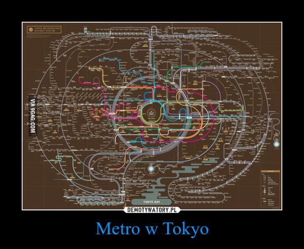 Metro w Tokyo –
