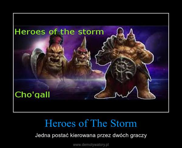 Heroes of The Storm – Jedna postać kierowana przez dwóch graczy