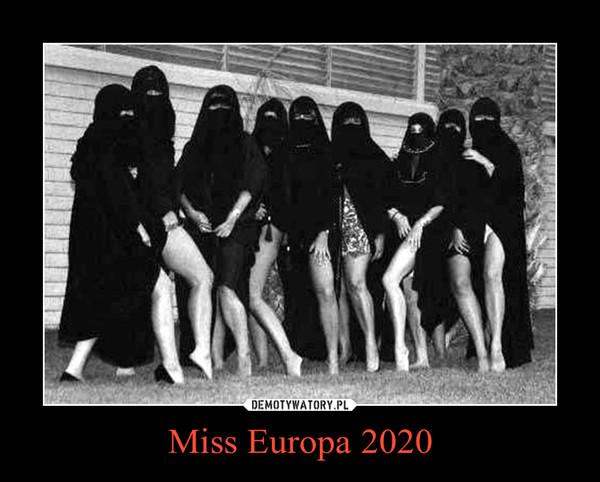 Miss Europa 2020 –