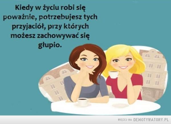 Tacy przyjaciele są najlepsi –