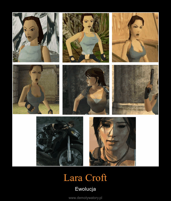 Lara Croft – Ewolucja