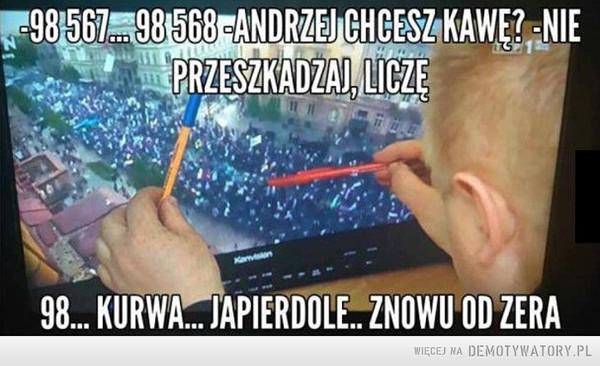 Liczenie w TVP –