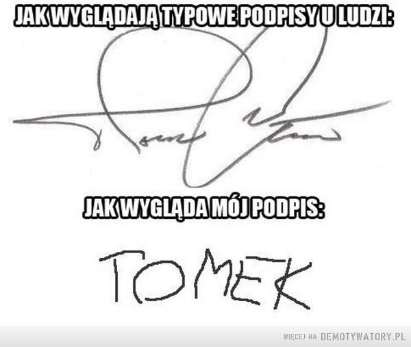 Mój podpis –