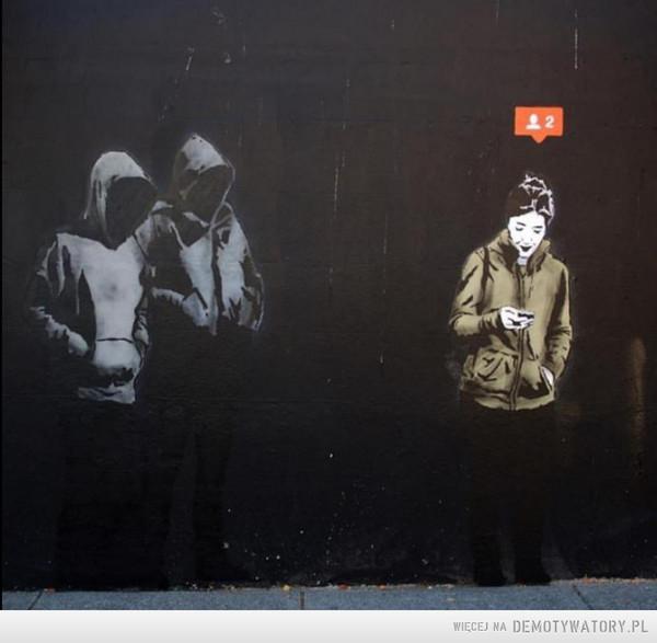 Mroczna sztuka ulicy –