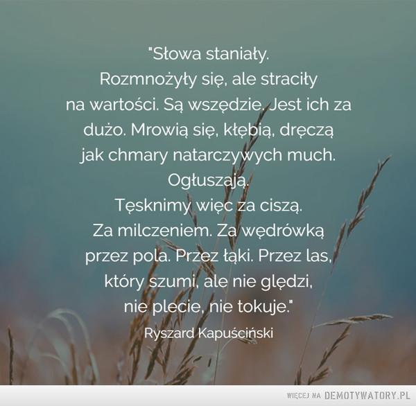 Ryszard Kapuściński –