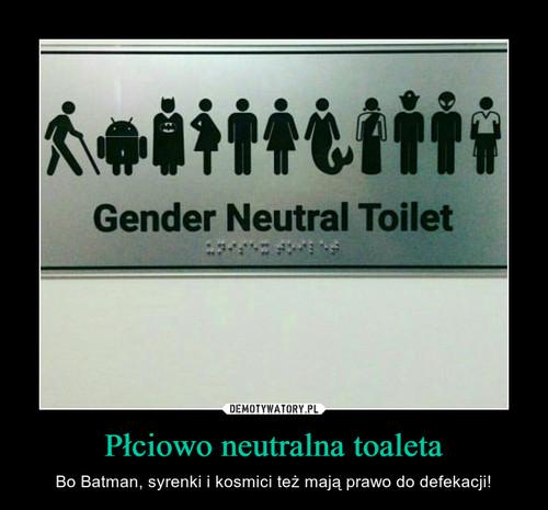 Płciowo neutralna toaleta