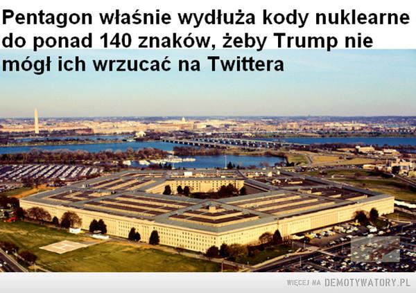 Pentagon właśnie wydłuża kody nuklearne... –