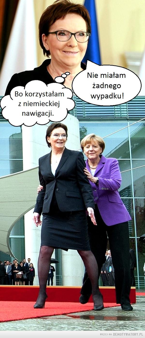 Ewa Kopacz i tajemnica jej bezpieczeństwa. –