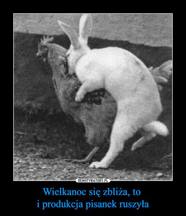 Wielkanoc się zbliża, to i produkcja pisanek ruszyła –