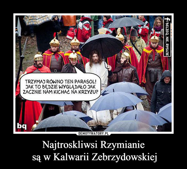 Najtroskliwsi Rzymianie są w Kalwarii Zebrzydowskiej –