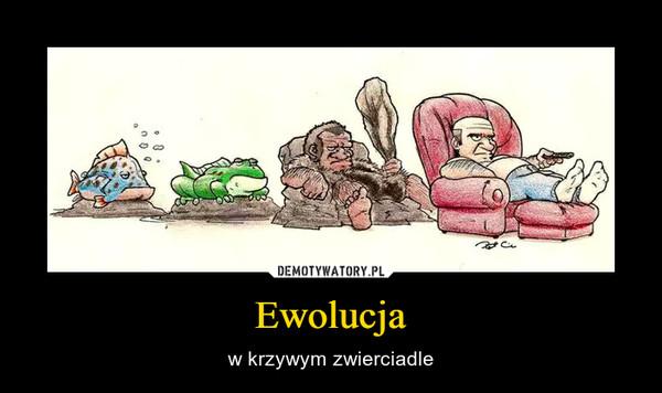 Ewolucja – w krzywym zwierciadle