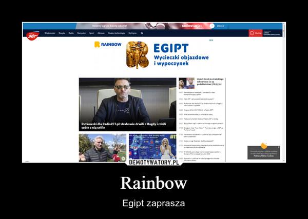 Rainbow – Egipt zaprasza