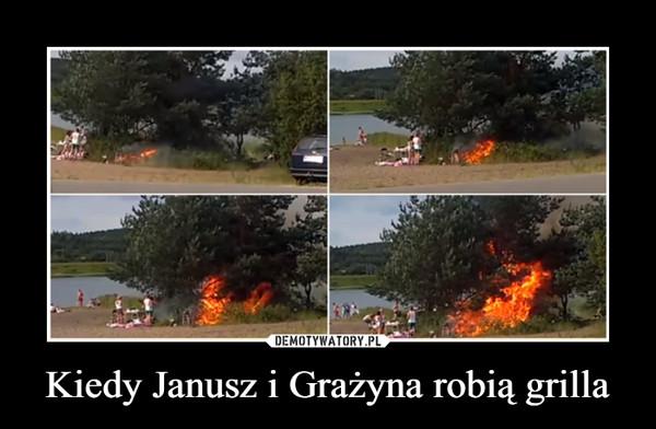 Kiedy Janusz i Grażyna robią grilla –
