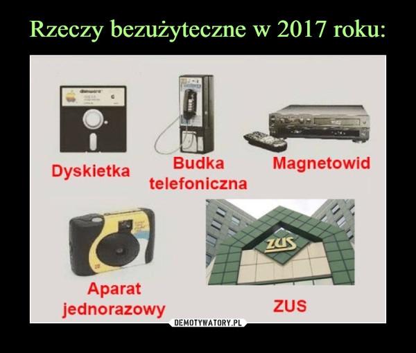 –  Dyskietka BudkaMagnetowidtelefonicznaAparatjednorazowyZUS