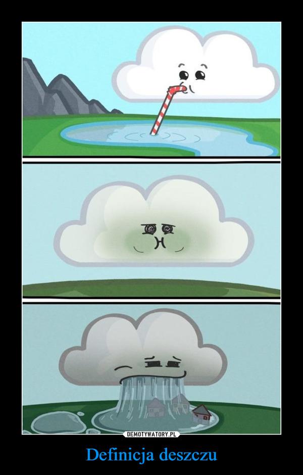 Definicja deszczu –