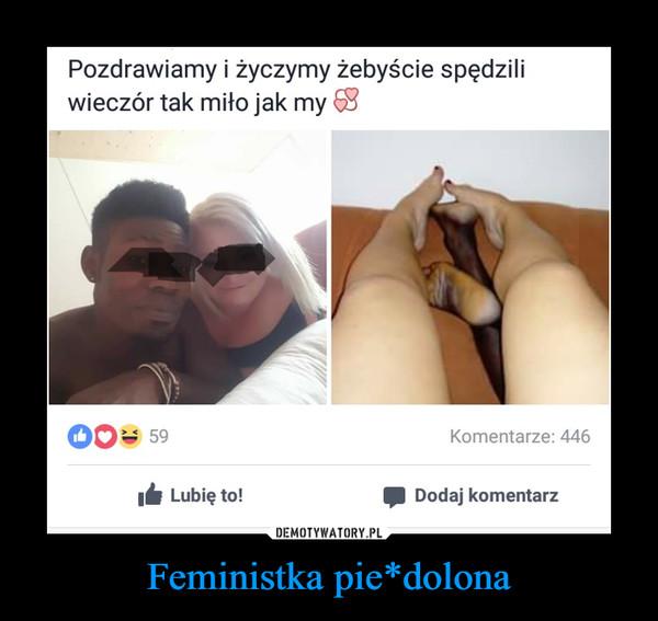 Feministka pie*dolona –