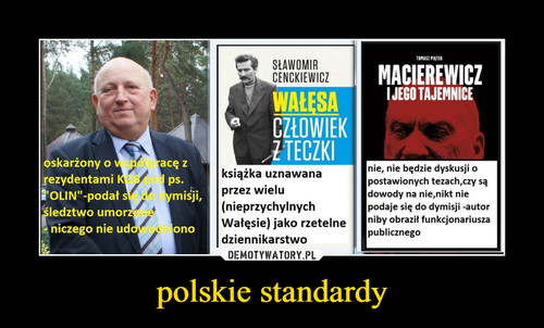polskie standardy
