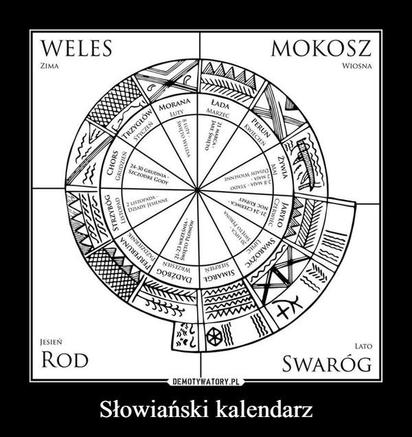 Słowiański kalendarz –