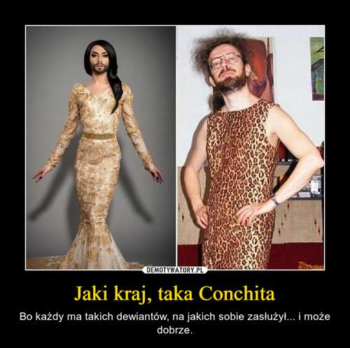 Jaki kraj, taka Conchita