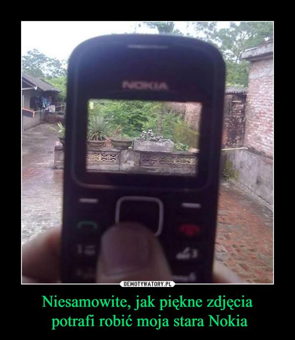 Niesamowite, jak piękne zdjęcia potrafi robić moja stara Nokia –