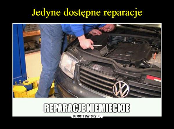 –  reparacje niemieckie